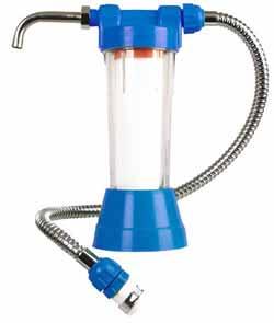 paraziți în filtrele de apă